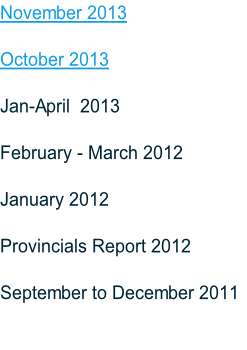 November 2013